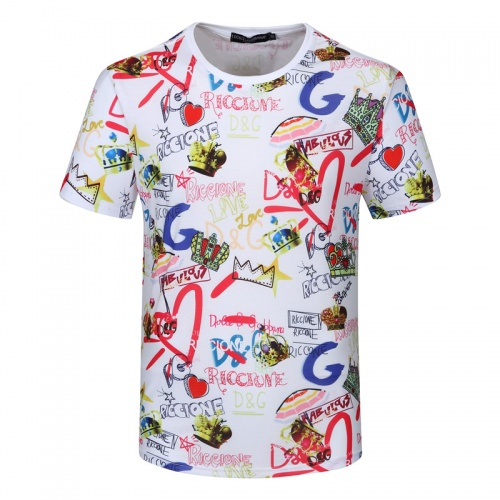 Dolce & Gabbana D&G T-Shirts Short Sleeved For Men #840749