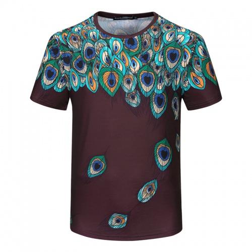 Dolce & Gabbana D&G T-Shirts Short Sleeved For Men #840757 $23.00, Wholesale Replica Dolce & Gabbana D&G T-Shirts