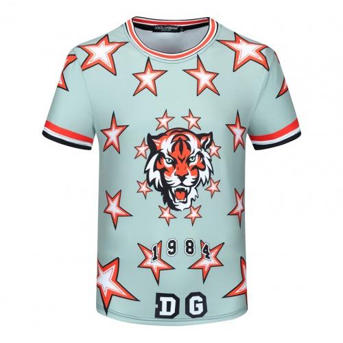 Dolce & Gabbana D&G T-Shirts Short Sleeved For Men #840761 $23.00 USD, Wholesale Replica Dolce & Gabbana D&G T-Shirts