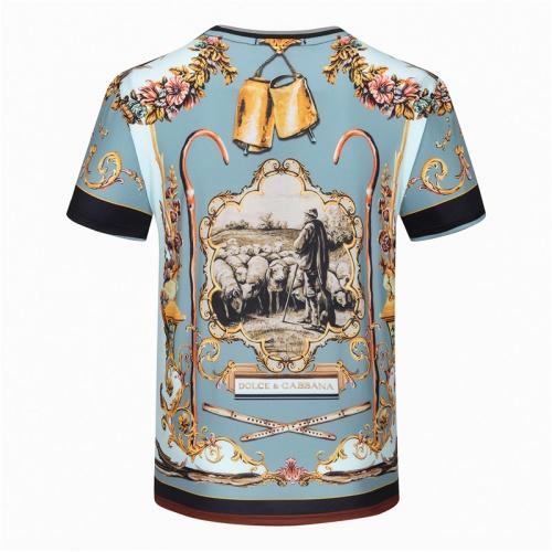 Dolce & Gabbana D&G T-Shirts Short Sleeved For Men #840762 $23.00 USD, Wholesale Replica Dolce & Gabbana D&G T-Shirts