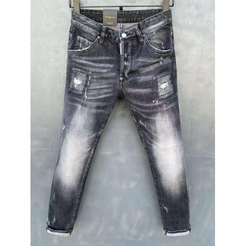Dsquared Jeans For Men #840779 $60.00 USD, Wholesale Replica Dsquared Jeans
