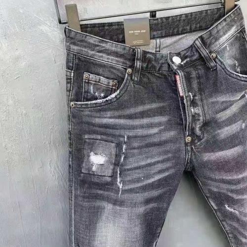 Replica Dsquared Jeans For Men #840779 $60.00 USD for Wholesale