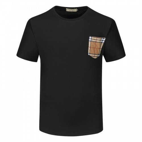 Replica Burberry T-Shirts Short Sleeved For Men #840787 $23.00 USD for Wholesale