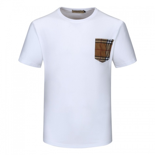 Replica Burberry T-Shirts Short Sleeved For Men #840788 $23.00 USD for Wholesale