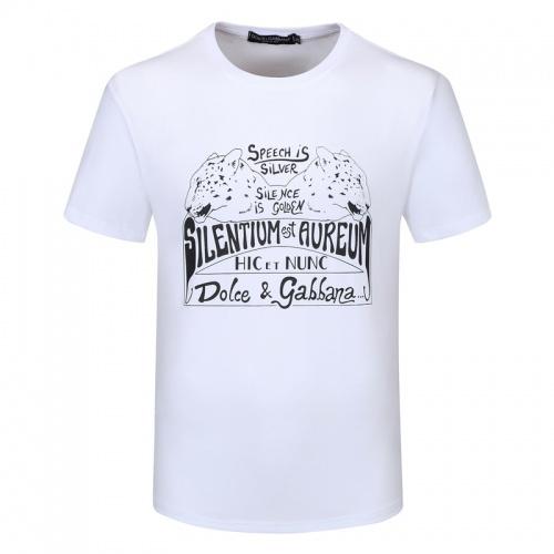 Dolce & Gabbana D&G T-Shirts Short Sleeved For Men #840856