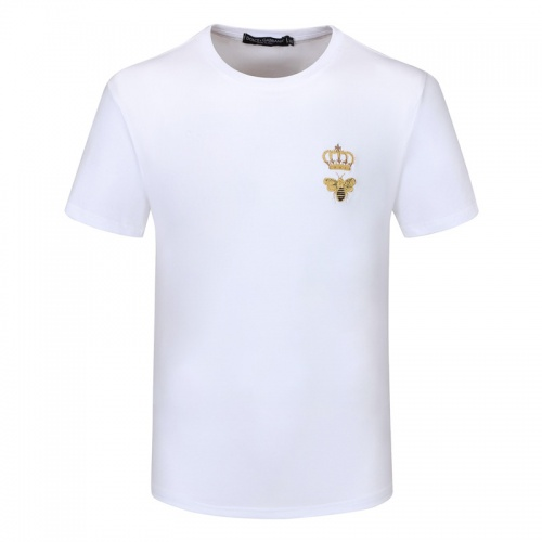 Dolce & Gabbana D&G T-Shirts Short Sleeved For Men #840862 $23.00 USD, Wholesale Replica Dolce & Gabbana D&G T-Shirts