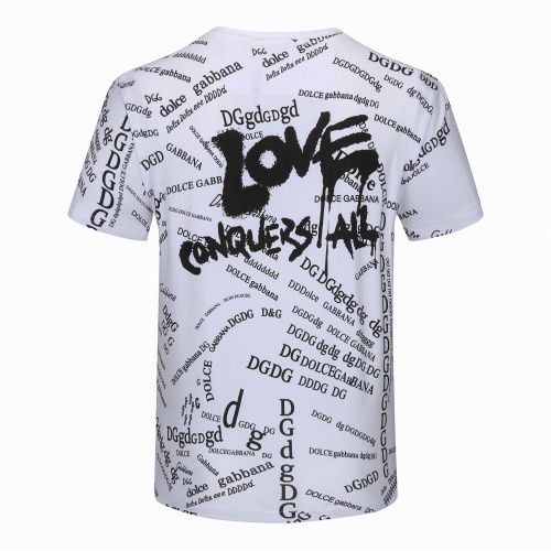 Dolce & Gabbana D&G T-Shirts Short Sleeved For Men #840878 $24.00 USD, Wholesale Replica Dolce & Gabbana D&G T-Shirts