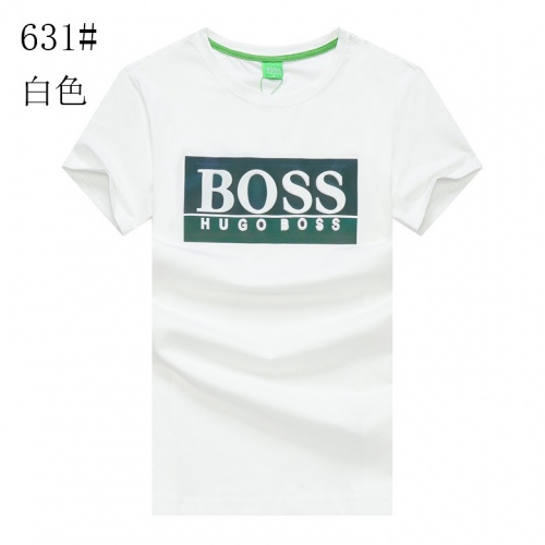 Boss T-Shirts Short Sleeved For Men #840893 $23.00 USD, Wholesale Replica Boss T-Shirts