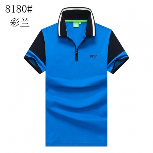 Boss T-Shirts Short Sleeved For Men #840913 $25.00 USD, Wholesale Replica Boss T-Shirts