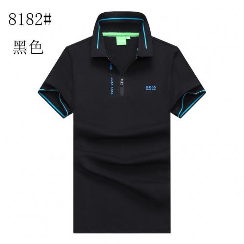Boss T-Shirts Short Sleeved For Men #840917 $25.00 USD, Wholesale Replica Boss T-Shirts