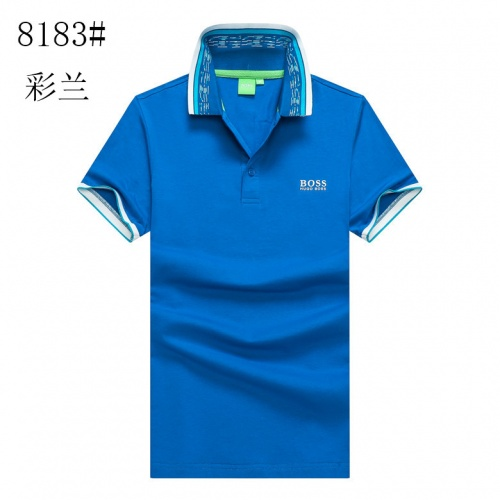 Boss T-Shirts Short Sleeved For Men #840921