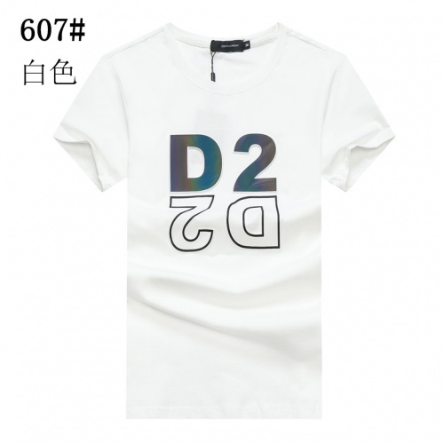 Dsquared T-Shirts Short Sleeved For Men #840928 $23.00, Wholesale Replica Dsquared T-Shirts