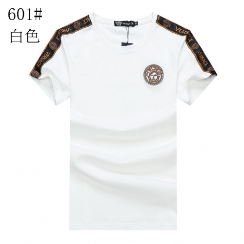 Versace T-Shirts Short Sleeved For Men #840970 $23.00 USD, Wholesale Replica Versace T-Shirts