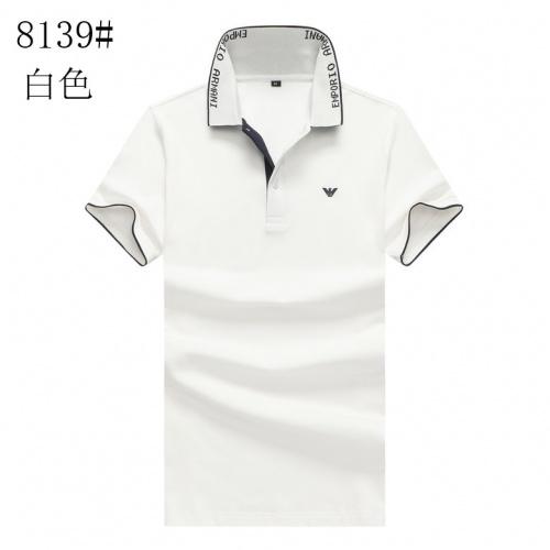 Armani T-Shirts Short Sleeved For Men #840980