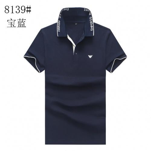 Armani T-Shirts Short Sleeved For Men #840981
