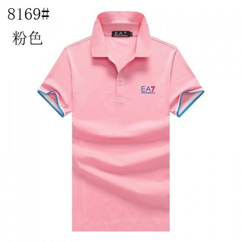 Armani T-Shirts Short Sleeved For Men #840987