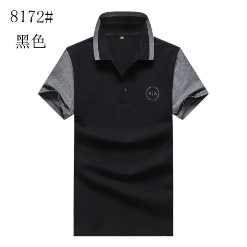 Armani T-Shirts Short Sleeved For Men #840991