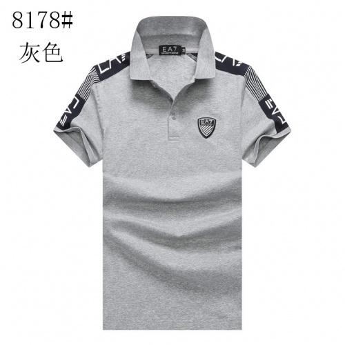 Armani T-Shirts Short Sleeved For Men #840992