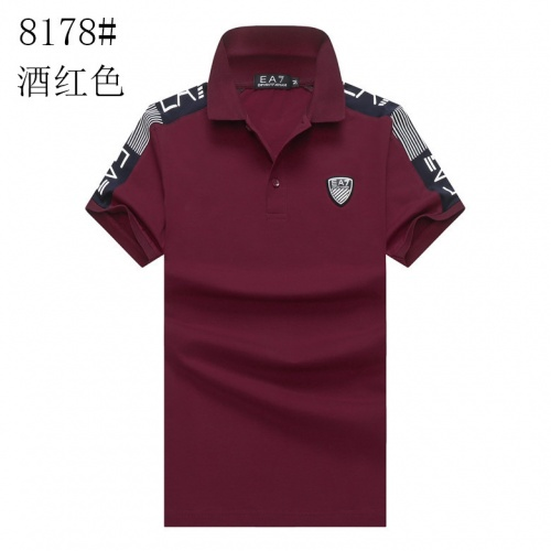 Armani T-Shirts Short Sleeved For Men #840994