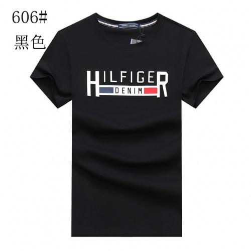 Tommy Hilfiger TH T-Shirts Short Sleeved For Men #840996