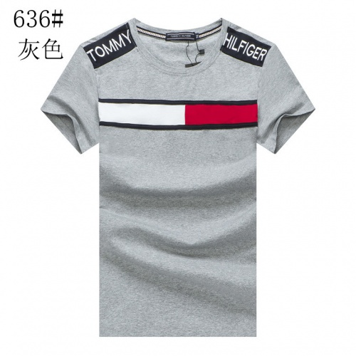 Tommy Hilfiger TH T-Shirts Short Sleeved For Men #841003 $23.00, Wholesale Replica Tommy Hilfiger TH T-Shirts
