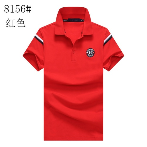 Tommy Hilfiger TH T-Shirts Short Sleeved For Men #841006 $24.00, Wholesale Replica Tommy Hilfiger TH T-Shirts