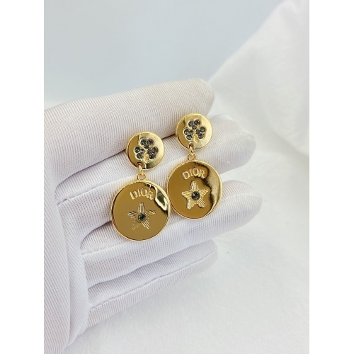 Christian Dior Earrings #841166 $29.00 USD, Wholesale Replica Christian Dior Earrings