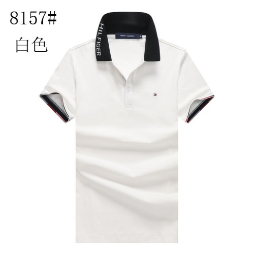 Tommy Hilfiger TH T-Shirts Short Sleeved For Men #841178 $24.00, Wholesale Replica Tommy Hilfiger TH T-Shirts