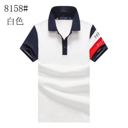 Tommy Hilfiger TH T-Shirts Short Sleeved For Men #841182 $24.00, Wholesale Replica Tommy Hilfiger TH T-Shirts