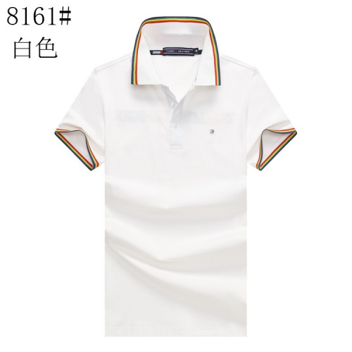Tommy Hilfiger TH T-Shirts Short Sleeved For Men #841185 $24.00, Wholesale Replica Tommy Hilfiger TH T-Shirts