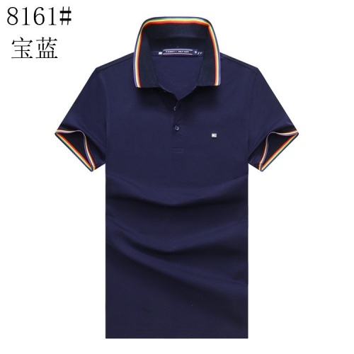 Tommy Hilfiger TH T-Shirts Short Sleeved For Men #841186 $24.00, Wholesale Replica Tommy Hilfiger TH T-Shirts
