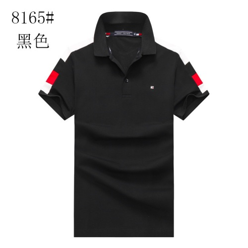Tommy Hilfiger TH T-Shirts Short Sleeved For Men #841189 $24.00, Wholesale Replica Tommy Hilfiger TH T-Shirts