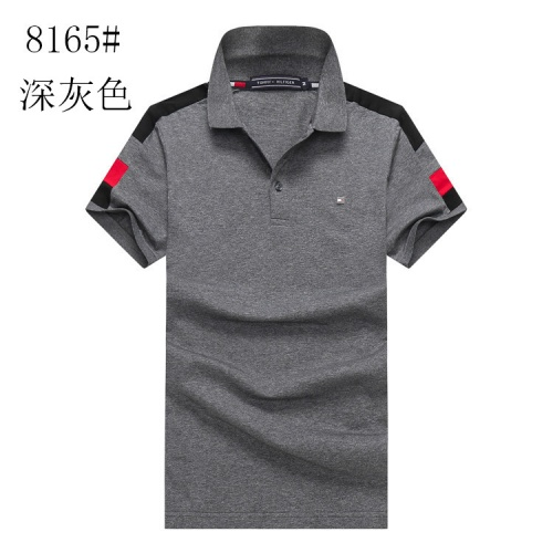 Tommy Hilfiger TH T-Shirts Short Sleeved For Men #841190 $24.00, Wholesale Replica Tommy Hilfiger TH T-Shirts