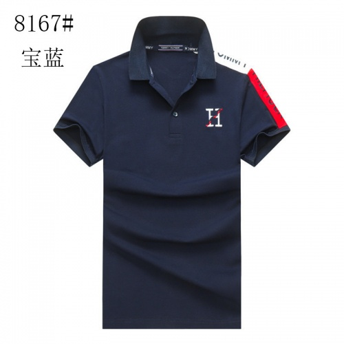 Tommy Hilfiger TH T-Shirts Short Sleeved For Men #841192 $24.00, Wholesale Replica Tommy Hilfiger TH T-Shirts