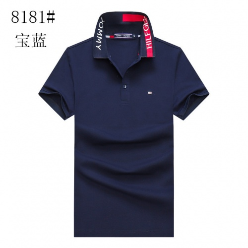 Tommy Hilfiger TH T-Shirts Short Sleeved For Men #841197 $24.00, Wholesale Replica Tommy Hilfiger TH T-Shirts