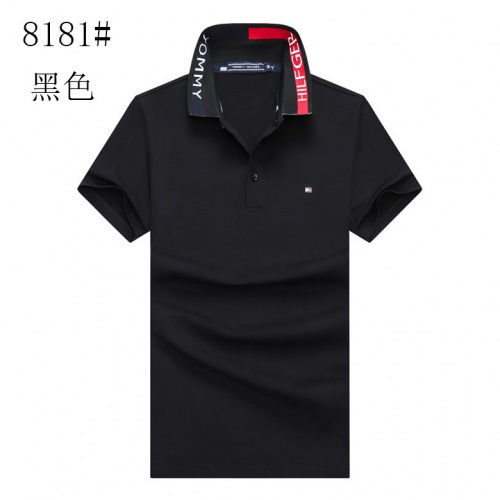 Tommy Hilfiger TH T-Shirts Short Sleeved For Men #841199 $24.00, Wholesale Replica Tommy Hilfiger TH T-Shirts