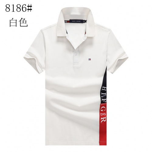 Tommy Hilfiger TH T-Shirts Short Sleeved For Men #841200 $24.00, Wholesale Replica Tommy Hilfiger TH T-Shirts