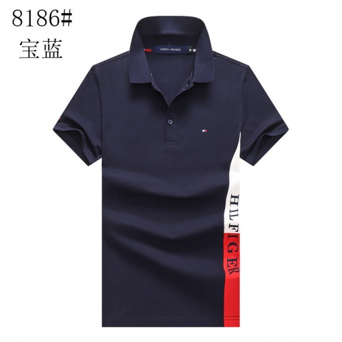 Tommy Hilfiger TH T-Shirts Short Sleeved For Men #841201 $24.00, Wholesale Replica Tommy Hilfiger TH T-Shirts