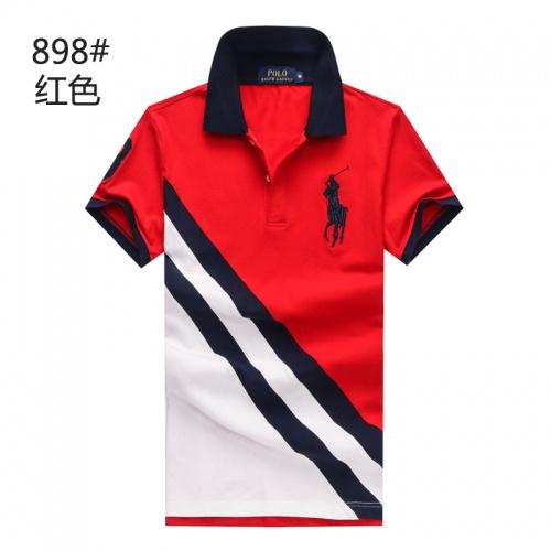 Ralph Lauren Polo T-Shirts Short Sleeved For Men #841239 $24.00 USD, Wholesale Replica Ralph Lauren Polo T-Shirts