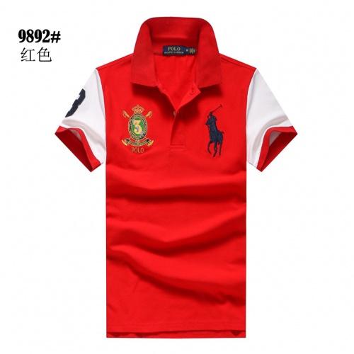 Ralph Lauren Polo T-Shirts Short Sleeved For Men #841241 $24.00 USD, Wholesale Replica Ralph Lauren Polo T-Shirts