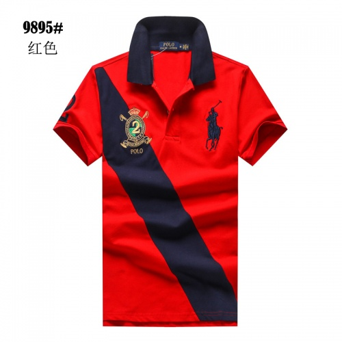 Ralph Lauren Polo T-Shirts Short Sleeved For Men #841248 $24.00 USD, Wholesale Replica Ralph Lauren Polo T-Shirts