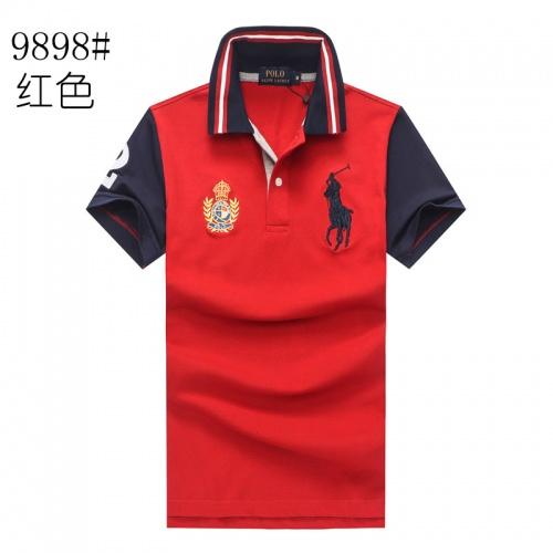 Ralph Lauren Polo T-Shirts Short Sleeved For Men #841254 $24.00 USD, Wholesale Replica Ralph Lauren Polo T-Shirts