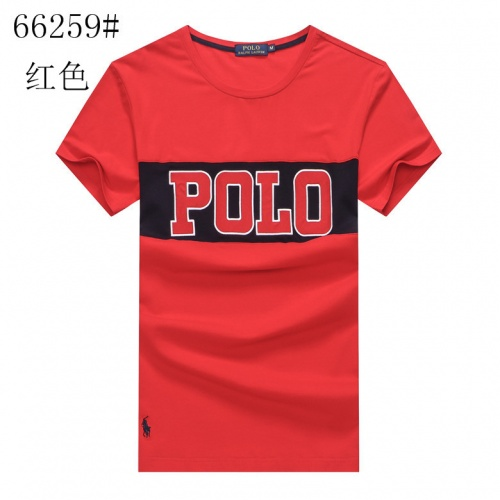 Ralph Lauren Polo T-Shirts Short Sleeved For Men #841279 $23.00 USD, Wholesale Replica Ralph Lauren Polo T-Shirts