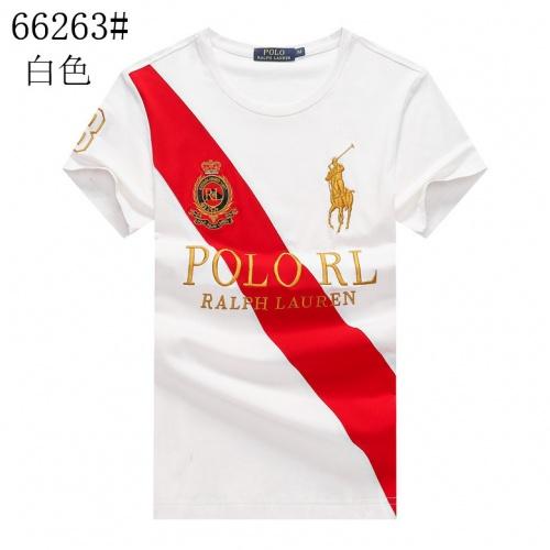 Ralph Lauren Polo T-Shirts Short Sleeved For Men #841280 $23.00 USD, Wholesale Replica Ralph Lauren Polo T-Shirts