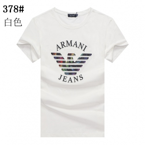 Armani T-Shirts Short Sleeved For Men #841283