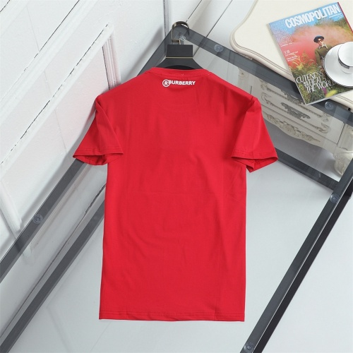 Replica Burberry T-Shirts Short Sleeved For Men #841342 $29.00 USD for Wholesale