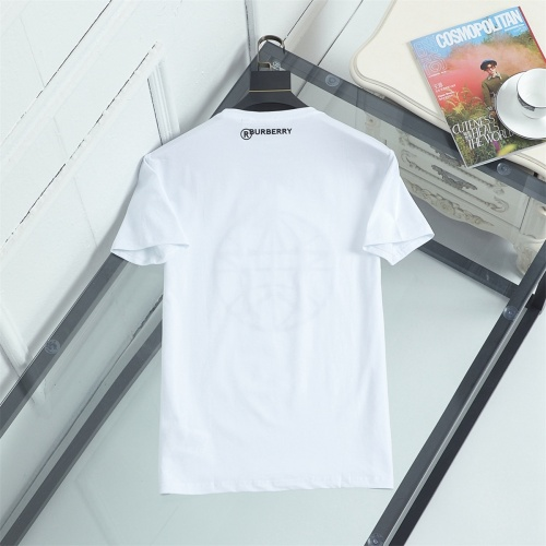 Replica Burberry T-Shirts Short Sleeved For Men #841343 $29.00 USD for Wholesale