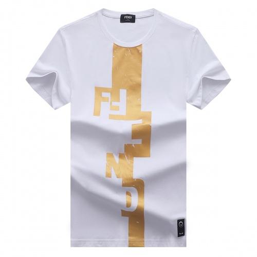 Fendi T-Shirts Short Sleeved For Men #841357