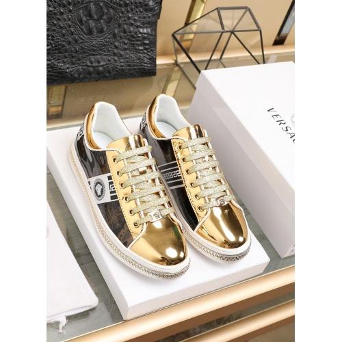 Versace Fashion Shoes For Men #841376 $85.00 USD, Wholesale Replica Versace Fashion Shoes