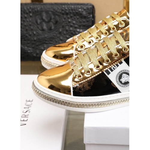 Replica Versace Fashion Shoes For Men #841376 $85.00 USD for Wholesale